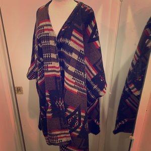 Jackets & Blazers - Warm Beautiful OSFA Poncho/Jacket Thingy 🤷🏼♀️😍